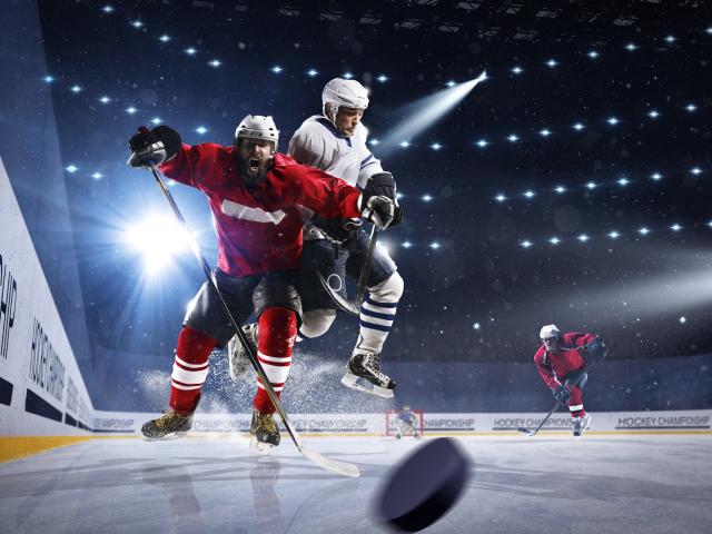 Хоккей - фото обои на рабочий стол, картинки с игроками хоккея